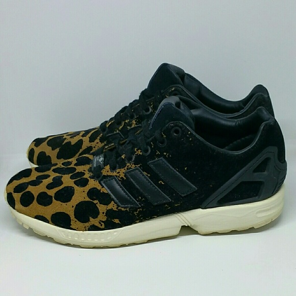3a4bf6a48b6d2 adidas Shoes - Adidas Zx Flux Torsion Leopard Print B35312 Shoes